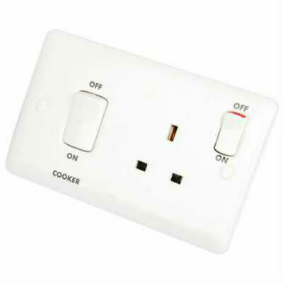 Legrand 730066 /'Synergy/' Switch Socket Outlet 13 Amp SP 1 Gang Single