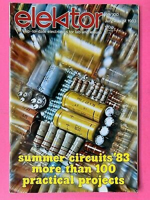 elektor - Electronics Magazine - July/Aug 1983 - Practical Projects Bumper Issue