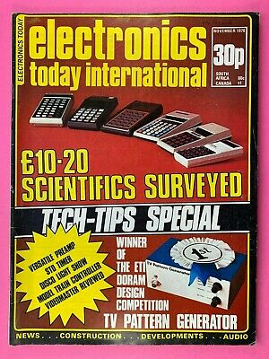 ELECTRONICS TODAY INTERNATIONAL Magazine - Nov 1976 - General Purpose Pre-Amp