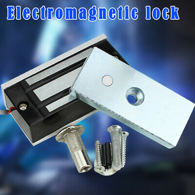 Electric Magnetic Lock 60KG Home Security System Durable for Door Entry Access