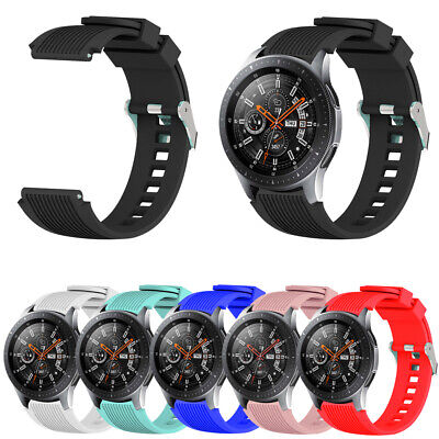 Correa Samsung Gear S3/Galaxy Watch 46mm Correa Silicona Rubber Starp deporte
