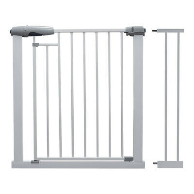 Callowesse® Freedom Baby Stair Gate – Unique Magnetic Two-Lock System 76-97cm