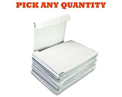 "#00 5x10 POLY BUBBLE MAILERS SHIPPING MAILING PADDED BAGS ENVELOPES 5"" x 9"""