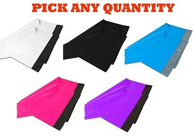 "6x9 Color POLY MAILERS Shipping Envelopes Self Sealing Mailing Bags 6"" x 9"""