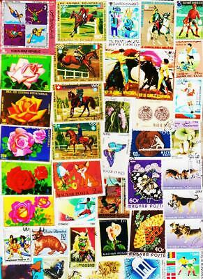 Top Class Worldwide 1500 All Different Used Stamps Collection Lot #K1211