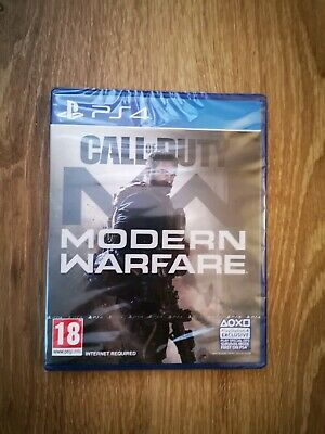 Call of duty modern warfare Ps4 Game BRAND NEW FACTORY SEALED