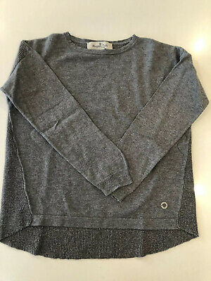 Massimo Dutti Girl Jumper Long Sleeve Top Age 5-6 Sparkle Back