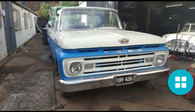 1962 American Ford F100 Pick-Up Truck
