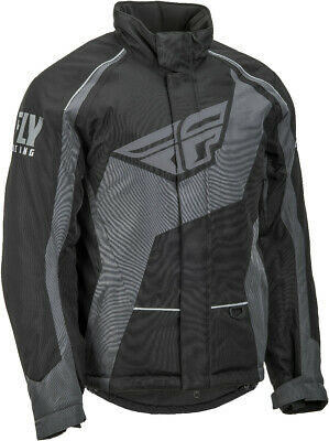 Fly Racing - 470-40902X - OUTPOST JACKET BLACK/GREY 2X