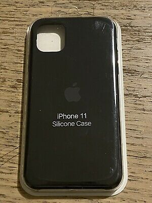 Apple Custodia Originale In Silicone Cover per Apple iPhone 11 - Nero
