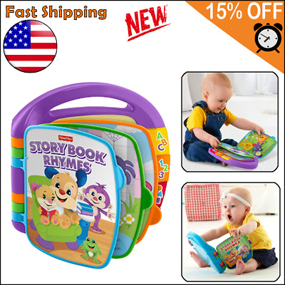 Educational Toys For 6 Months 1 2 3 year Old Boy Girl Toddler Learning Storybook