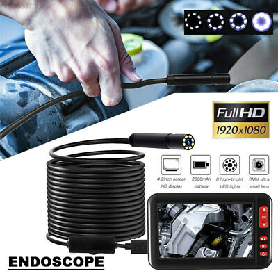 4ABB F200 Ear Spoon Borescope Endoscope Microscope Monitoring Durable