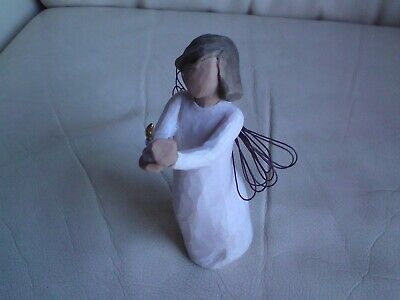 Willow Tree Angel of Hope Figurine, SUSAN LORDI 2005,USED. 14 CMS HIGH APPROX.