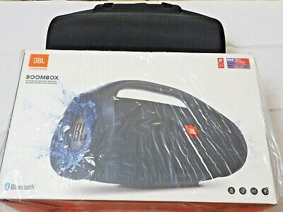 JBL BOOMBOX Waterproof Portable Speaker - Black, **SEE DESCRIPTION**