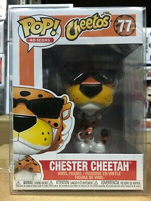 Funko Pop! Chester Cheetah Cheetos Ad Icons #77 w/ Protector  IN STOCK