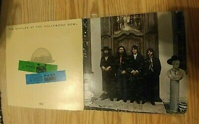 The Beatles, 2 Record lot: At the Hollywood Bowl. Hey Jude(Stereo).Original LP's