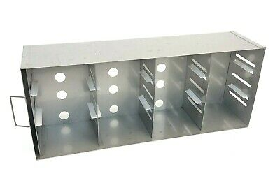 Southern Labware Stainless Steel Laboratory Freezer Rack Cryogenics Cryo 22x9""