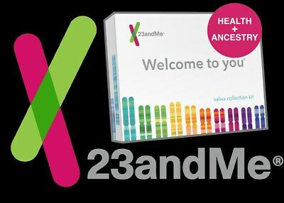 ALL TESTING FEES INCLUDED • 23andMe • HEALTH & ANCESTRY • DNA SALIVA TEST KIT