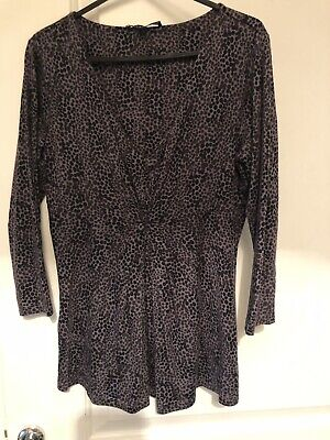 Womens Laura Ashley Top Size 8