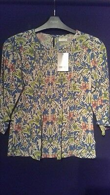 girls next top age 8 years floral top colourful brand new summer light weight