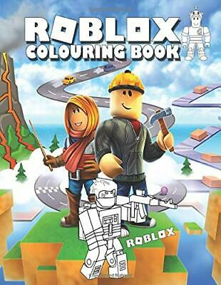 Roblox Colouring Book: Perfect Gift For Kids That Love Game With Over 40