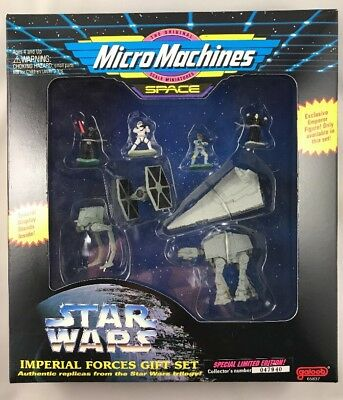 Micro Machines Star Wars Imperial Forces Gift Special Limited Edition 1994 New