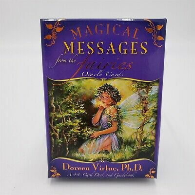 Doreen Virtue Magical Messages from the Fairies Oracle Cards 44 Cards & Book