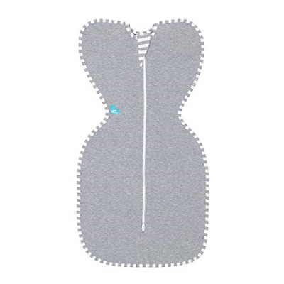 Love To Dream Swaddle UP, Gray, Medium, 13-19 lbs, Dramatically Better Sleep, to