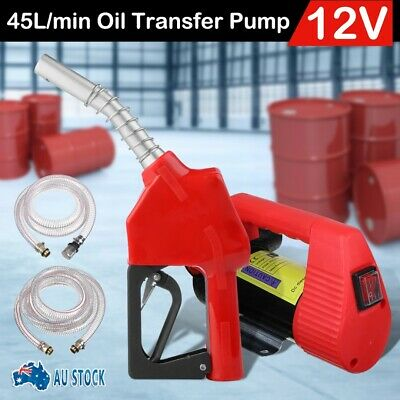 DC 12V 175W Car Engine Oil Transfer Extractor Pump Fluid Diesel Electric Siphon