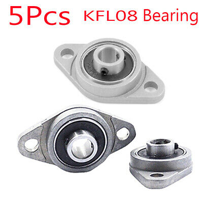 KFL08 8mm Mounted Block Cast Housing Self-aligning Pillow Bearing P7K5