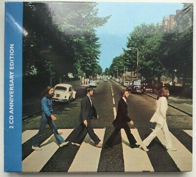 THE BEATLES - ABBEY ROAD 2CD DELUXE EDITION, 50th ANNIVERSARY, NEW 2019 SEALED