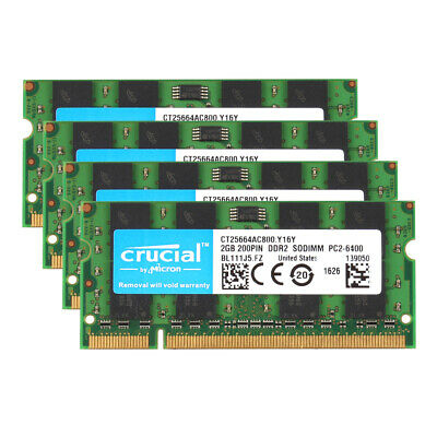 1GB 800MHz  Laptop//PC DDR2 200Pins For SAMSUNG 2rx16 PC2-6400s-666-12 SO-DIMM Q1