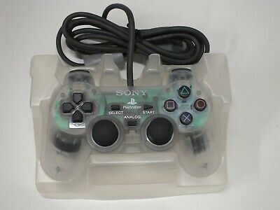 UNUSED Official Sony PlayStation 1 PS1 CLEAR TRANSPARENT Controller Pad
