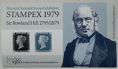 Great Britain (1979) Rowland Hill / Stampex 1979 / Stamps on Stamps - Mint (MNH)