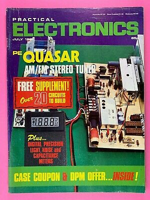 PRACTICAL ELECTRONICS - Magazine - July 1981 - Quasar AM/FM Stereo Tuner