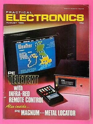 PRACTICAL ELECTRONICS - Magazine - August 1980 - PE Magnum Metal Locator