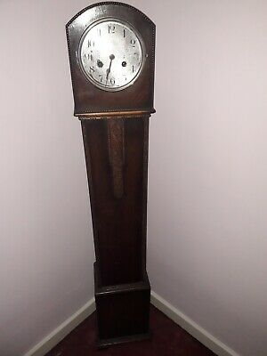 Antique  vintage GRANDDAUGHTER CLOCK repairs  but all complete look!