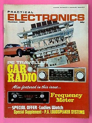 PRACTICAL ELECTRONICS - Magazine - March 1980 - PE Traveller Car Radio