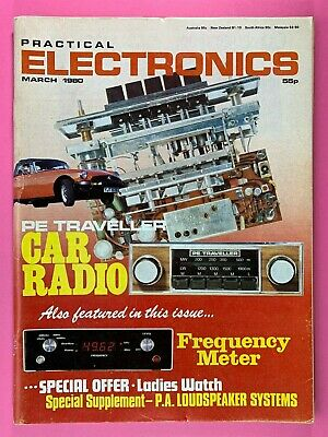 PRACTICAL ELECTRONICS - Magazine - March 1980 - Car Radio - Frequency Meter