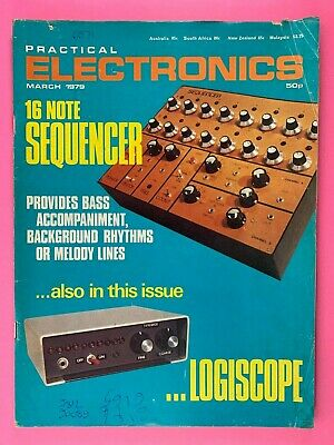 PRACTICAL ELECTRONICS - Magazine - March 1979 -