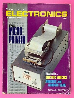 PRACTICAL ELECTRONICS - Magazine - January 1979 - Electric Vehicles
