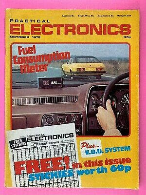 PRACTICAL ELECTRONICS - Magazine - October 1978 - Fuel Consumption Meter