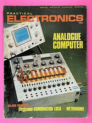 PRACTICAL ELECTRONICS - Magazine - September 1978 - Analogue Computer
