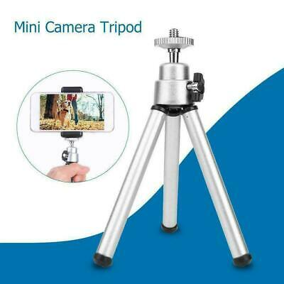 Mini Aluminum Alloy Desktop Tripod 3 Section Holder Stand for Projector Cam B9H3