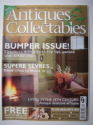 Antiques & Collectables - Issue 33 - December 2001 - Fireplaces, Dolls