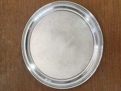 """Tiffany & Co  FANEUIL Sterling Silver Tray Platter  11"""" Diameter    FREE-MAILING"""