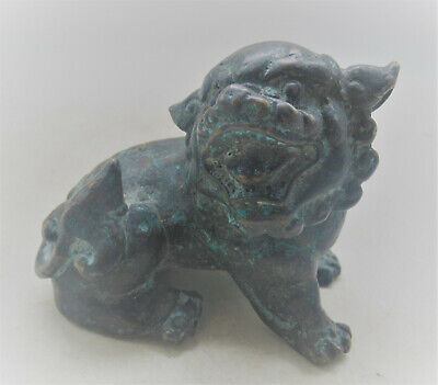 Unresearched Ancient Near Eastern Bronze Beast Figurine Very Interesting