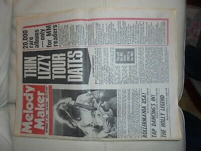 Melody Maker September 11 Th 1976 Queen Thin Lizzy