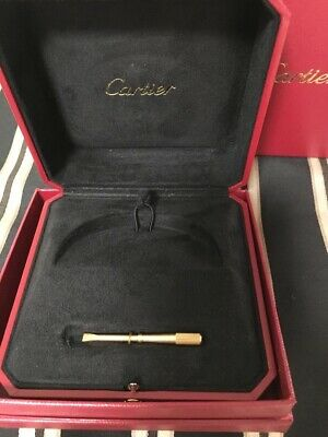 new box for Cartier Love Bracelet With ROSE, YELLOW or WHITE screwdriver