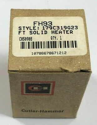 EATON CUTLER HAMMER FH93 Thermal Overload Heater Element